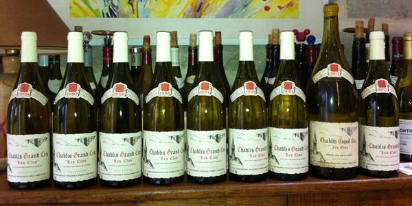 Bourgogne dégustation vin blanc