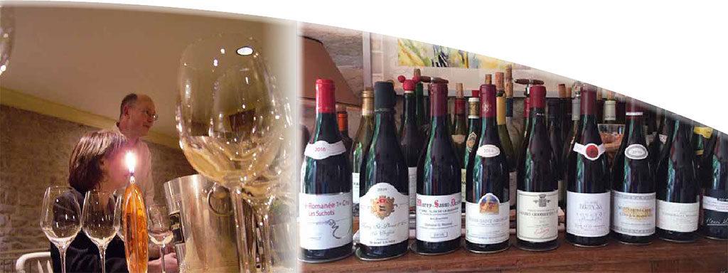 Martial Jacquet, dégustation de grands crus de Bourgogne